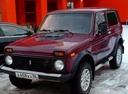 Подержанный ВАЗ (Lada) 4x4, бордовый , цена 160 000 руб. в ао. Ханты-Мансийском Автономном округе - Югре, хорошее состояние