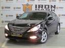 Подержанный Hyundai Sonata, черный, 2011 года выпуска, цена 720 000 руб. в Казани, автосалон Айрон Моторс Trade-in
