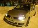 Подержанный Renault Symbol, серебряный , цена 170 000 руб. в ао. Ханты-Мансийском Автономном округе - Югре, плохое состояние