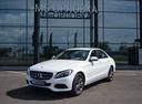 Новый Mercedes-Benz C-Класс, белый металлик, 2016 года выпуска, цена 2 110 000 руб. в автосалоне