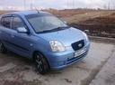 Подержанный Kia Picanto, голубой металлик, цена 200 000 руб. в ао. Ханты-Мансийском Автономном округе - Югре, хорошее состояние