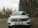 Подержанный Volkswagen Tiguan, белый , цена 1 170 000 руб. в Воронежской области, отличное состояние