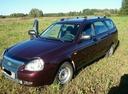 Подержанный ВАЗ (Lada) Priora, бордовый , цена 260 000 руб. в Томской области, хорошее состояние