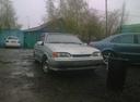 Подержанный ВАЗ (Lada) 2114, серебряный , цена 95 000 руб. в Омске, отличное состояние