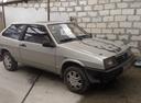 Подержанный ВАЗ (Lada) 2108, серый перламутр, цена 100 000 руб. в Крыму, хорошее состояние