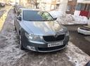 Подержанный Skoda Superb, серый , цена 460 000 руб. в Ульяновске, среднее состояние