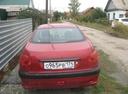 Подержанный Peugeot 206, красный металлик, цена 170 000 руб. в Челябинской области, среднее состояние
