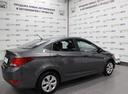 Подержанный Hyundai Solaris, серый, 2017 года выпуска, цена 570 000 руб. в Уфе, автосалон Браво Авто