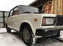 Подержанный ВАЗ (Lada) 2107, белый , цена 40 000 руб. в Томской области, хорошее состояние