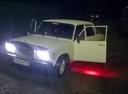 Подержанный ВАЗ (Lada) 2107, белый , цена 25 000 руб. в Челябинской области, среднее состояние