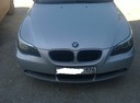 Подержанный BMW 5 серия, серебряный металлик, цена 530 000 руб. в Челябинской области, отличное состояние