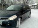 Подержанный Nissan Tiida, синий металлик, цена 450 000 руб. в Челябинской области, хорошее состояние