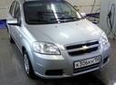 Подержанный Chevrolet Aveo, серебряный , цена 220 000 руб. в Тверской области, хорошее состояние