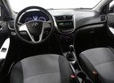 Подержанный Hyundai Solaris, черный, 2013 года выпуска, цена 497 000 руб. в Иваново, автосалон