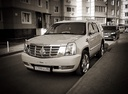 Подержанный Cadillac Escalade, белый перламутр, цена 1 550 000 руб. в ао. Ханты-Мансийском Автономном округе - Югре, отличное состояние