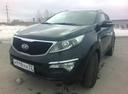 Подержанный Kia Sportage, черный металлик, цена 1 180 000 руб. в Тюмени, отличное состояние