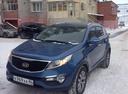 Подержанный Kia Sportage, синий металлик, цена 1 197 000 руб. в ао. Ханты-Мансийском Автономном округе - Югре, отличное состояние