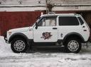Подержанный ВАЗ (Lada) 4x4, белый , цена 100 000 руб. в Челябинской области, хорошее состояние