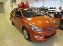 Подержанный Hyundai Solaris, оранжевый, 2015 года выпуска, цена 676 000 руб. в Ростове-на-Дону, автосалон