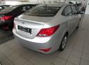 Подержанный Hyundai Solaris, серебряный, 2016 года выпуска, цена 678 000 руб. в Ростове-на-Дону, автосалон