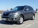 Подержанный Hyundai Santa Fe, серый металлик, цена 950 000 руб. в Омске, хорошее состояние