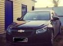 Подержанный Chevrolet Cruze, черный металлик, цена 450 000 руб. в Челябинской области, хорошее состояние