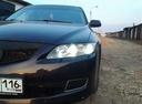 Подержанный Mazda 6, фиолетовый металлик, цена 380 000 руб. в республике Татарстане, хорошее состояние
