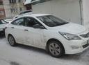 Подержанный Hyundai Solaris, белый , цена 470 000 руб. в Челябинской области, отличное состояние
