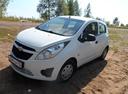Подержанный Chevrolet Spark, белый , цена 279 000 руб. в республике Татарстане, отличное состояние