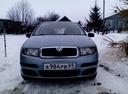 Подержанный Skoda Fabia, голубой металлик, цена 200 000 руб. в Смоленской области, хорошее состояние