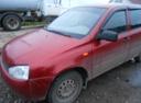 Подержанный ВАЗ (Lada) Kalina, бордовый , цена 170 000 руб. в республике Татарстане, хорошее состояние