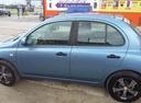 Подержанный Nissan Micra, голубой перламутр, цена 420 000 руб. в ао. Ханты-Мансийском Автономном округе - Югре, хорошее состояние