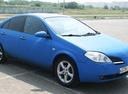 Подержанный Nissan Primera, синий матовый, цена 259 000 руб. в Челябинской области, хорошее состояние