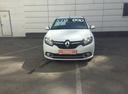 Подержанный Renault Logan, белый, 2015 года выпуска, цена 550 000 руб. в Екатеринбурге, автосалон Автобан-Березовский Trade-in