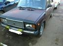 Подержанный ВАЗ (Lada) 2107, вишневый , цена 50 000 руб. в республике Татарстане, среднее состояние
