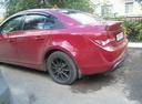 Подержанный Chevrolet Cruze, бордовый металлик, цена 365 000 руб. в республике Татарстане, хорошее состояние