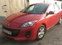 Подержанный Mazda 3, красный , цена 610 000 руб. в ао. Ханты-Мансийском Автономном округе - Югре, отличное состояние