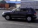 Подержанный Hyundai Santa Fe, голубой металлик, цена 400 000 руб. в ао. Ханты-Мансийском Автономном округе - Югре, хорошее состояние