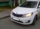 Подержанный Kia Rio, белый , цена 550 000 руб. в ао. Ханты-Мансийском Автономном округе - Югре, хорошее состояние