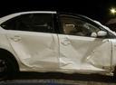 Подержанный Volkswagen Polo, белый , цена 180 000 руб. в ао. Ханты-Мансийском Автономном округе - Югре, битый состояние