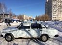 Подержанный ВАЗ (Lada) 2107, белый , цена 70 000 руб. в Ульяновской области, хорошее состояние