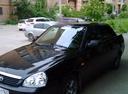 Подержанный ВАЗ (Lada) Priora, черный , цена 235 000 руб. в Самаре, хорошее состояние