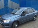 Подержанный ВАЗ (Lada) Granta, голубой , цена 295 000 руб. в республике Татарстане, отличное состояние