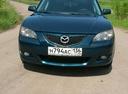 Подержанный Mazda 3, бирюзовый металлик, цена 350 000 руб. в Воронежской области, хорошее состояние