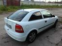 Подержанный Opel Astra, белый , цена 120 000 руб. в Самаре, хорошее состояние
