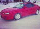 Подержанный Hyundai Coupe, красный , цена 265 000 руб. в Челябинской области, среднее состояние