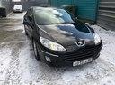 Подержанный Peugeot 407, черный , цена 350 000 руб. в ао. Ханты-Мансийском Автономном округе - Югре, хорошее состояние