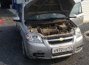 Подержанный Chevrolet Aveo, серебряный металлик, цена 265 000 руб. в Челябинской области, среднее состояние