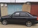 Подержанный Hyundai Accent, черный металлик, цена 250 000 руб. в ао. Ханты-Мансийском Автономном округе - Югре, хорошее состояние