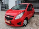 Подержанный Chevrolet Spark, красный, 2011 года выпуска, цена 289 000 руб. в Екатеринбурге, автосалон Автобан-Запад